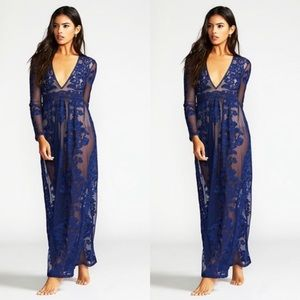 For Love And Lemons Temecula Maxi Dress